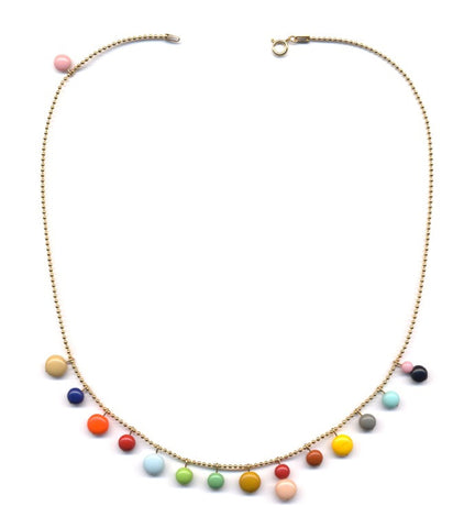 Colorful Bouy Necklace