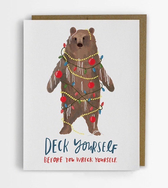 Deck Yourself Holiday Card - Box of 8