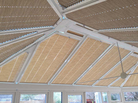 Perfect Fit Pleated Roof Blinds Professionally Installed