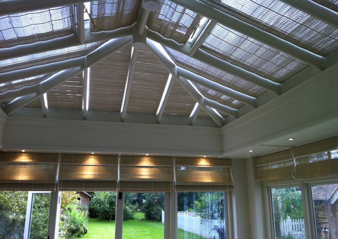 Pinoleum Roof Blinds Professionally Installed