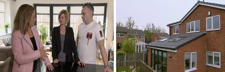 Russ and jen hunt from sheffield were one such family who enlisted the advice of sarah and the channel 4 programme for there own grand plans to build a