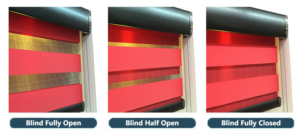 Mirage Allure Scarlet - Conservatory Blinds Direct