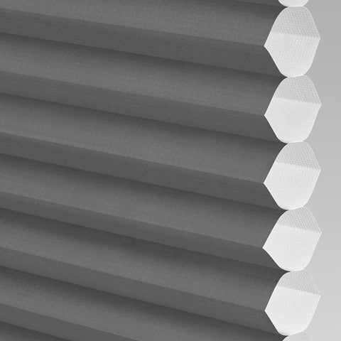 Anthracite Perfect Fit Blinds Hive Range Plain Black