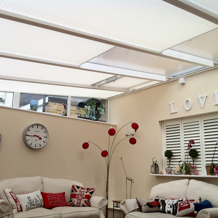 Conservatory blinds direct buy online roof blinds pleated pleated lean to blinds shop now solutioingenieria Image collections