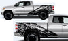 Toyota Tundra TRD Truck Vinyl Decal Graphics Custom Black Gun Design
