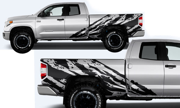 Toyota Tundra TRD Truck Vinyl Decal Graphics Custom Black Design