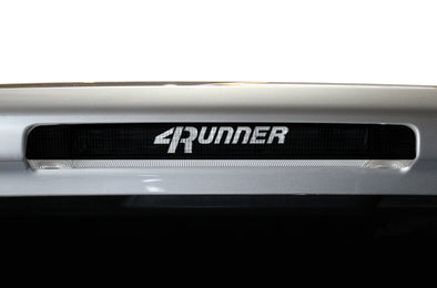 Toyota 4Runner 4 Runner TRD Truck Vinyl Decal Graphics Custom Black Design Brake Light