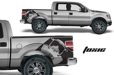 Ford F-150 (2009-2014) Custom Vinyl Decal Kit - TOXIC
