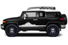 Toyota FJ Cruiser TRD Truck Vinyl Decal Graphics Custom White  Mountain Design