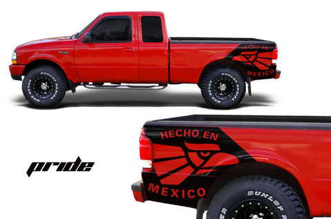 Ford Ranger (1998-2000) Custom Vinyl Decal Wrap Kit - PRIDE