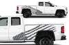 GMC Sierra Vehicle Vinyl Truck Decal Decals Factory Crafts Graphics Custom American Flag America Gray