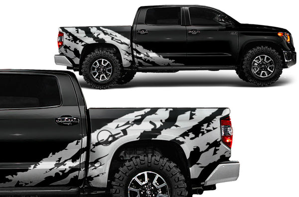 2017 Silverado Colors >> Toyota-Tundra-2014-2015-Rear-Decal-Shredded – Factory Crafts