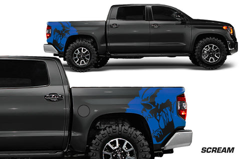 Toyota Tundra (2014-2016) Custom Vinyl Decal Wrap Kit - SCREAM