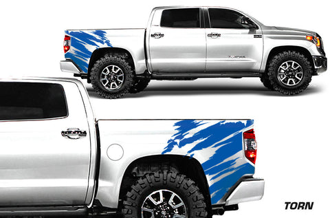 Toyota Tundra (2014-2016) Rear Decal - Torn