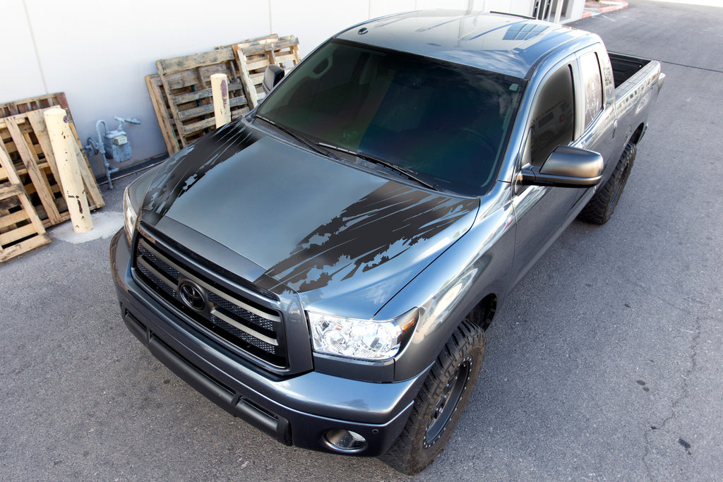 Toyota Tundra 2007 2013 Hood Stripes Torn Factory Crafts