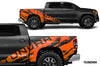 Toyota Tundra TRD Truck Vinyl Decal Graphics Custom Orange Design
