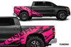 Toyota Tundra TRD Truck Vinyl Decal Graphics Custom Pink Design