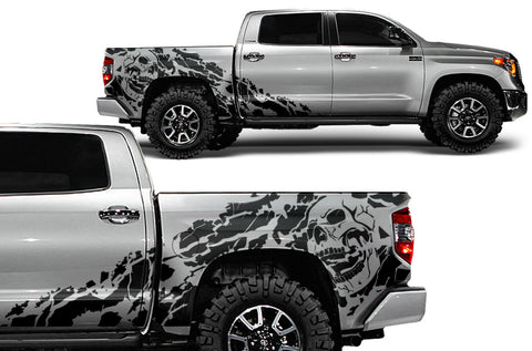 Toyota Tundra (2014-2016) CREW CAB Custom Full Body Decal Kit NIGHTMARE