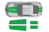 Chevy Chevrolet Camaro Car Decal Vinyl Graphics Green Stripe Design