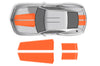 Chevy Chevrolet Camaro Car Decal Vinyl Graphics Orange Stripe Design