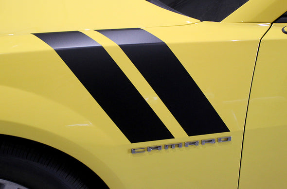 Chevy Chevrolet Camaro Car Decal Vinyl Graphics Black Stripe Design