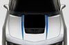 Chevy Chevrolet Camaro Car Decal Vinyl Graphics Blue Hood Stripe Design
