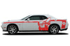 Dodge Challenger Car Vinyl Decal Custom Graphics Red Super Bee Design