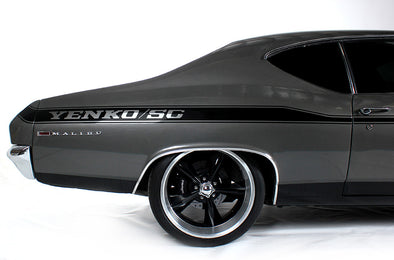 Chevy Chevrolet Chevelle Car Decal Vinyl Graphics Black Stripe Design