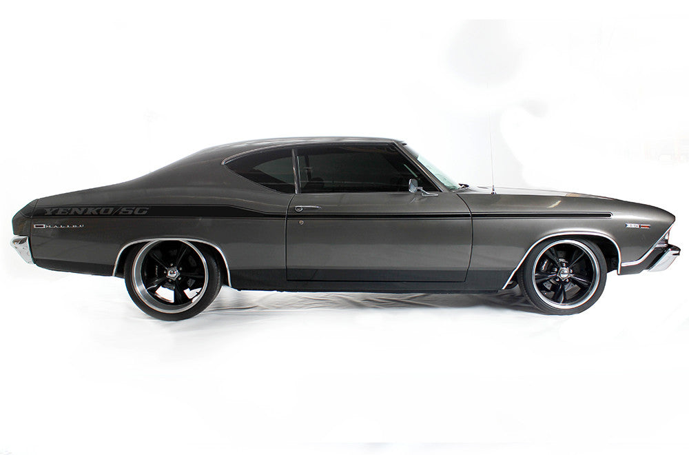 Chevrolet Chevelle 1969 Vinyl Decal Wrap Kit Yenko