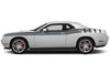 Dodge Challenger Car Vinyl Decal Custom Graphics Gray Stripe Design