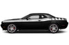 Dodge Challenger Car Vinyl Decal Custom Graphics White Stripe Design