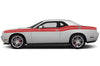 Dodge Challenger Car Vinyl Decal Custom Graphics Red Stripe Design
