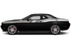 Dodge Challenger Car Vinyl Decal Custom Graphics Silver Stripe Design