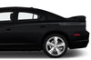 Dodge Charger Car Vinyl Decal Custom Graphics Gray Stripe Design