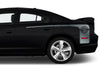Dodge Charger Car Vinyl Decal Custom Graphics Silver Stripe Design