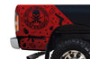Dodge Ram 1500 2500 Truck Vinyl Decal Custom Graphics Red Design