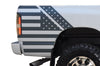 Dodge Ram 1500 2500 Truck Vinyl Decal Custom Graphics Gray American Flag Design
