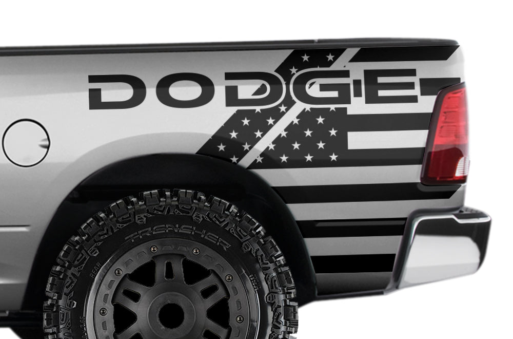 ram decals dodge vinyl truck custom 2500 1500 2009 usa graphics stickers factory decal vehicle