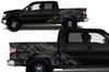 Ford F-150 (2009-2014) SuperCrew 5.5 Bed Custom Vinyl Decal Wrap Kit - NIGHTMARE
