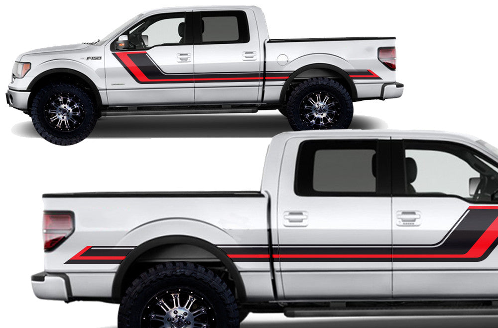 Ford F 150 2009 2014 Supercrew 5 5 Bed Custom Vinyl