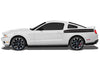 Ford Mustang (2010-2014) Custom Vinyl Decal Wrap Kit - REAR DOUBLE STRIPE