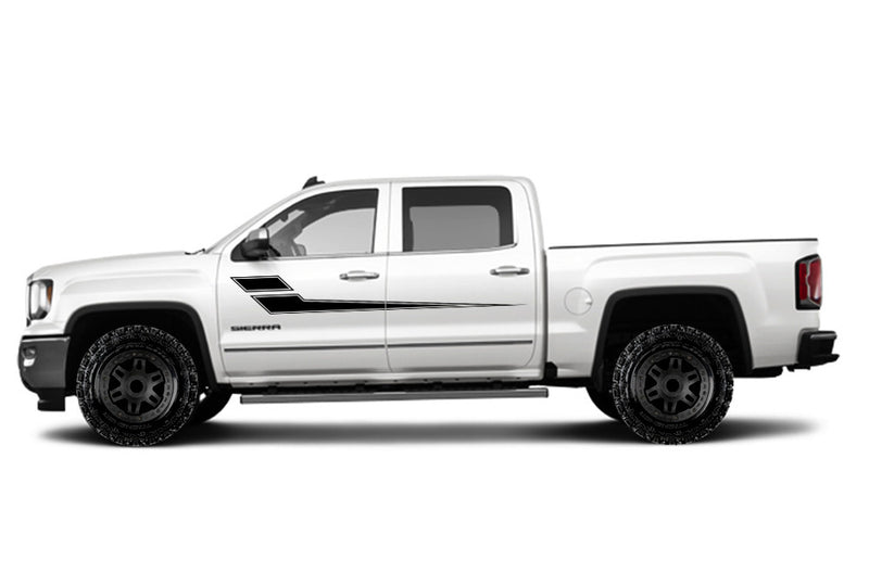 Custom truck decals inspirative gmcsierra vehicle vinyltruck vinyl