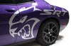 Dodge Challenger (2015-2016) Custom Vinyl Decal Wrap Kit - HELLCAT SRT