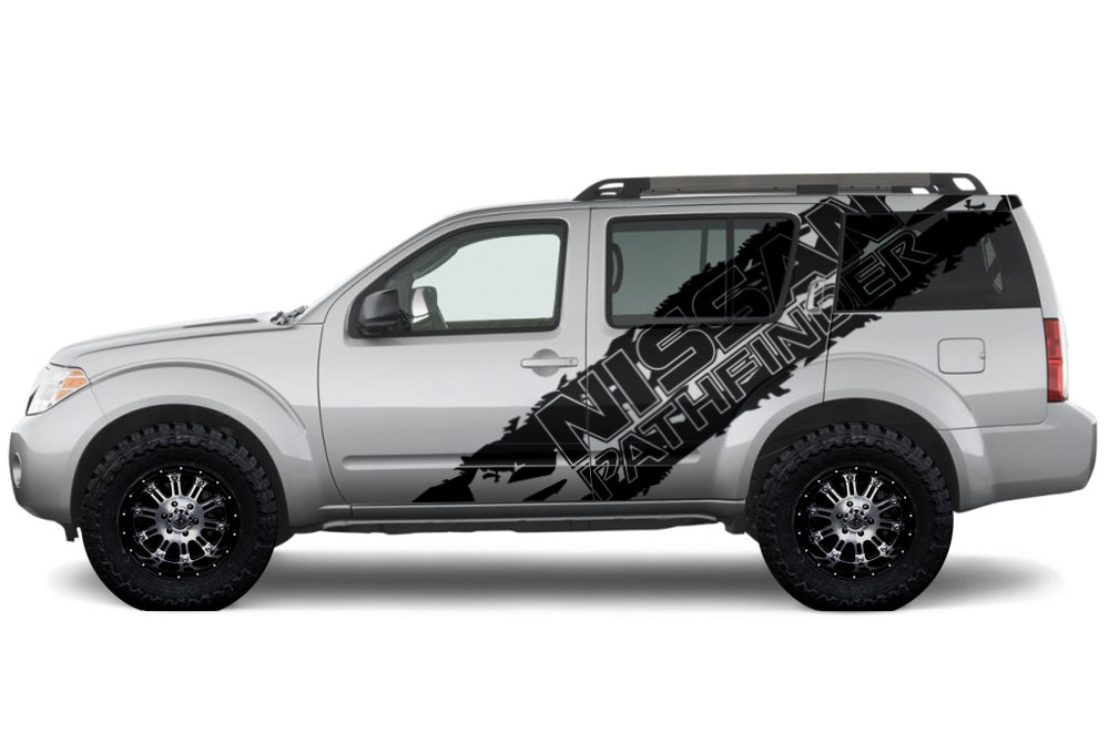 nissan pathfinder 2004 2012 custom vinyl decal kit pathfinder side factory crafts nissan pathfinder 2004 2012 custom vinyl decal kit pathfinder side graphic