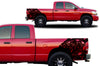 Dodge Ram 1500 2500 Truck Vinyl Decal Custom Graphics Snake Design