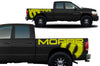 Dodge Ram 1500 2500 Truck Vinyl Decal Custom Graphics Yellow Design
