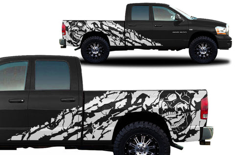 Dodge Ram 1500/2500 (2002-2008) Custom Vinyl Decal Kit - Nightmare