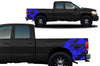 Dodge Ram 1500 2500 Truck Vinyl Decal Custom Graphics Blue Design