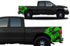Dodge Ram 1500 2500 Truck Vinyl Decal Custom Graphics Green Design