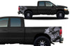 Dodge Ram 1500 2500 Truck Vinyl Decal Custom Graphics Silver Design